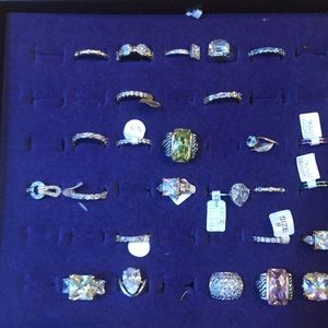 SELLERS OPPORTUNITY 47 gold and silver plated ring